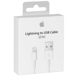 Cable Lightning vers USB Original APPLE (2m)