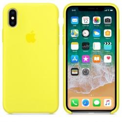 Coque en silicone pour iPhone X - TelOneiPhone.fr