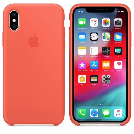 Coque en silicone pour iPhone XS - TelOneiPhone.fr