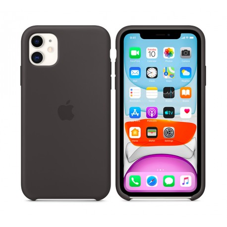 Coque en silicone pour iPhone 11 - TelOneiPhone.fr