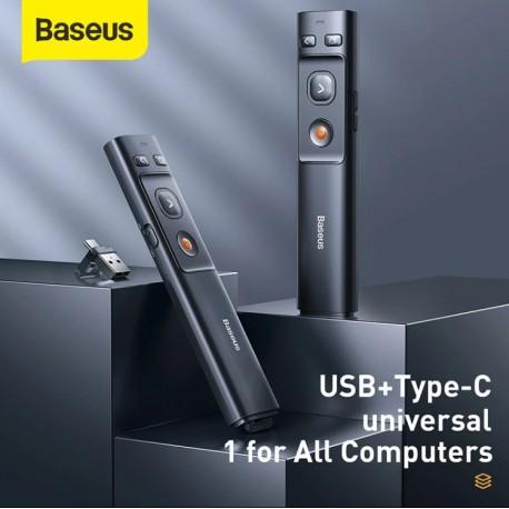 BASEUS - Stylo Pointeur  Télécommande Sans Fil 2.4Ghz