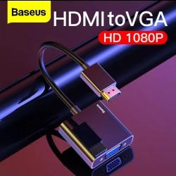 BASEUS - Cable HDMI Vers VGA Numérique Convertisseur