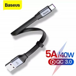 BASEUS - Cable USB - DE TYPE C - 5A Charge Rapide