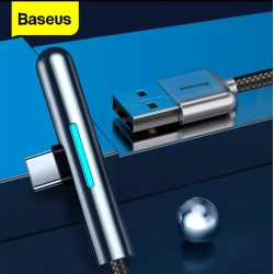 BASEUS - Câble USB Type-C 40W  Eclairage LED