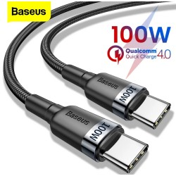 BASEUS - Cable Charge Rapide USB-C a Type-c 5A 100W