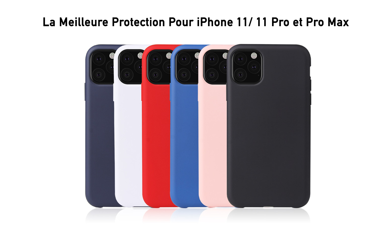 Coque Silicone iPhone 11/ 11Pro/ 11 Pro Max - TelOneiPhone.fr
